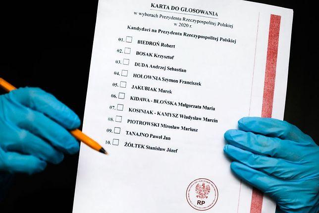 Wybory prezydenckie nie odbyły się 10 maja. Ale karty wyborcze zostały wydrukowane