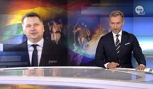"""""""Fakty"""" były bezlitosne dla ministra Czarnka"""