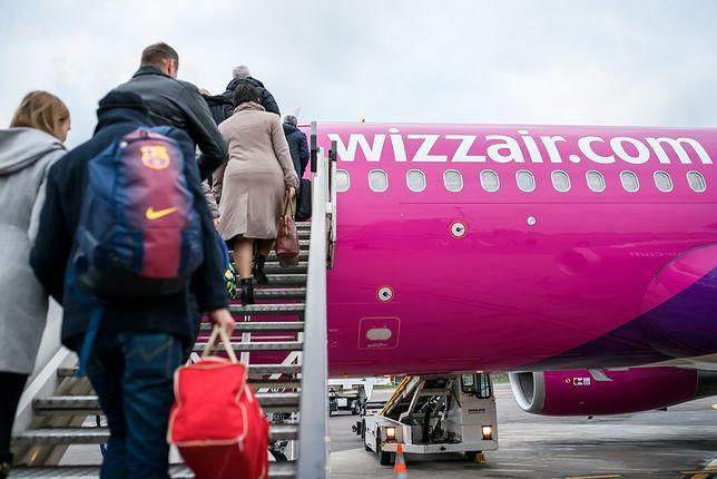 Pierwszeństwo wejścia na pokład i mały bagaż rejestrowany w Wizzairze znowu zdrożały