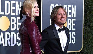 Złote Globy: Nicole Kidman w bardzo obcisłej sukni