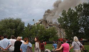 Pożar przy Fasolowej: Poszkodowani wciąż nie wrócili do swoich mieszkań