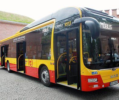 Autobusy hybrydowe w Warszawie