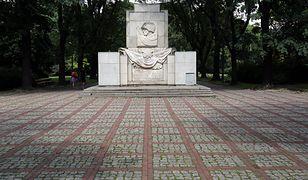 Pomnik w parku Skaryszewskim