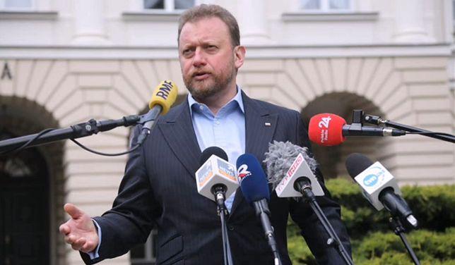 """Koronawirus w Polsce. Łukasz Szumowski o rygorach. Polska podzielona na """"czerwone"""", """"żółte"""" i """"zielone"""" powiaty"""