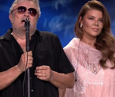 Edyta Górniak zaśpiewała u boku Cugowskiego podczas koncertu w Opolu.