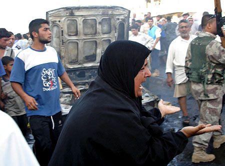 Zamach bombowy w Basrze