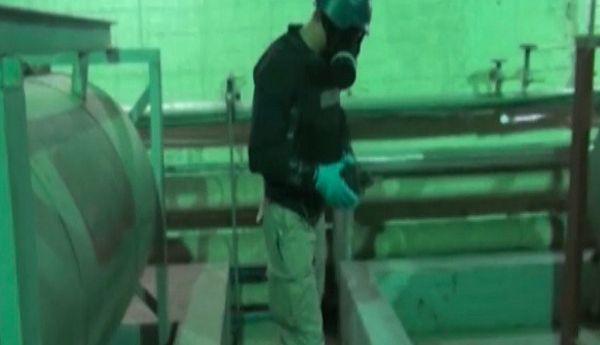 Inspektor Organizacji ds. Zakazu Broni Chemicznej w Syrii