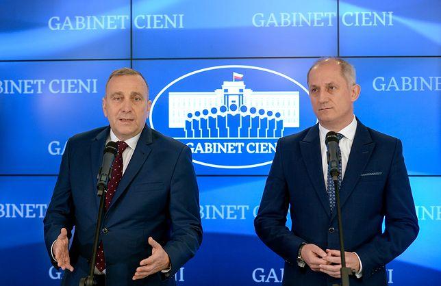 Grzegorz Schetyna zaskakuje słowami skierowanymi do dziennikarza TVP