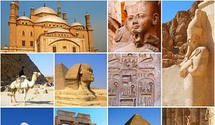 Egipt - skarby kraju Faraonów