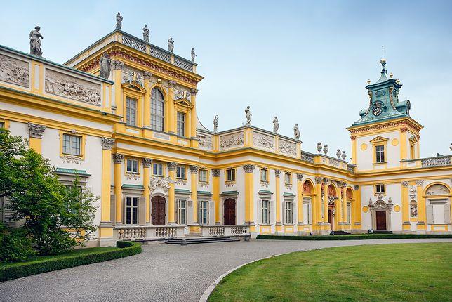 Wspaniałe obiekty pałacowe