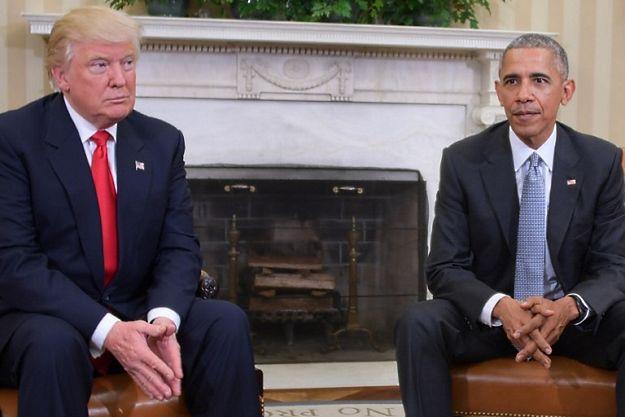 Barack Obama spotkał się z Donaldem Trumpem