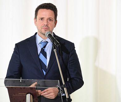 Prezydent Warszawy Rafał Trzaskowski.