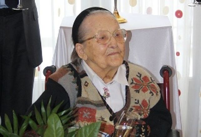Pani Apolonia Lisowska kończy 114 lat!