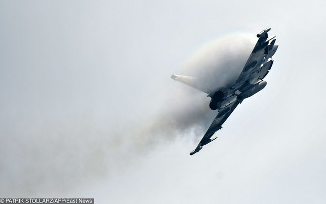 Dwa myśliwce Eurofighter zderzyły się podczas ćwiczeń