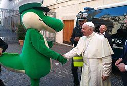 Krokodyl Tirek odwiedził papieża. Wizyta kosztowała kilkadziesiąt tysięcy