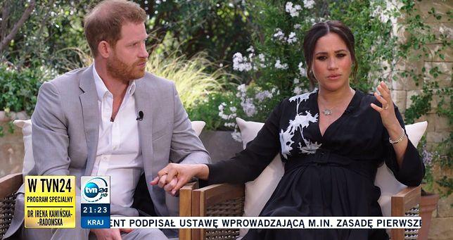 Wywiad z Meghan i Harrym można było obejrzeć w Polsce na TVN24