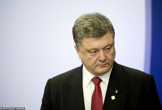 Ukraina: eskalacja konfliktu z Rosją korzystna dla prezydenta Petro Poroszenki (na zdjęciu)?