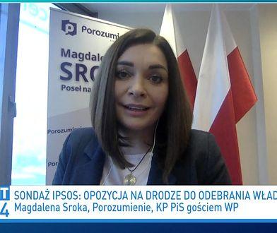 Niepokojący sondaż dla PiS. Magdalena Sroka komentuje