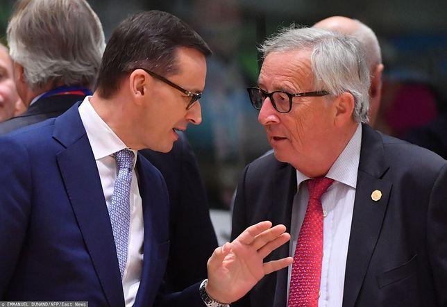 Wyniki wyborów parlamentarnych 2019. Jean-Claude Juncker zabrał głos