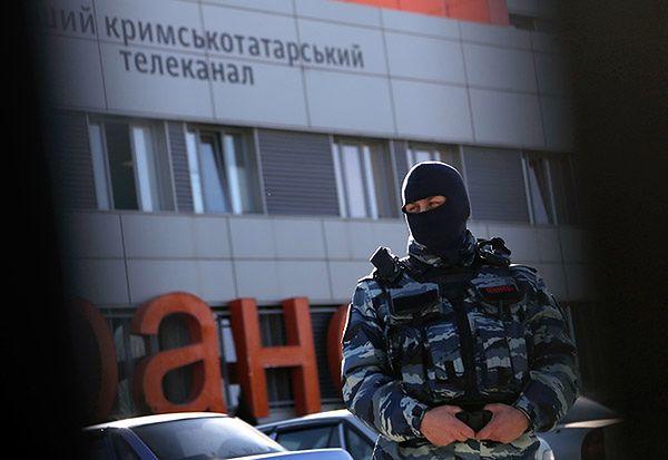 Rosyjskie służby weszły do niezależnej stacji tv na Krymie. Skonfiskowano sprzęt i materiały
