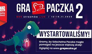 Do streamu, gotowi, start! 60-godzinny maraton gamingowy Gra Paczka 2 rozpoczyna się już dzisiaj