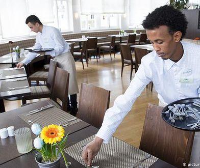 Migranci pracujący w hotelu na niemieckiej wyspie Sylt