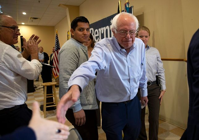 Bernie Sanders ma 78 lat