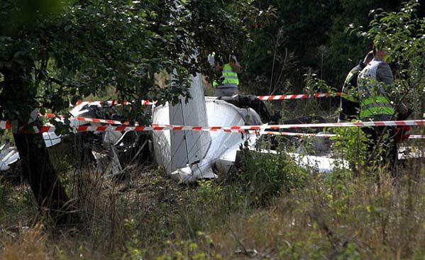 Spadł samolot ze skoczkami koło Częstochowy - zginęło 11 osób
