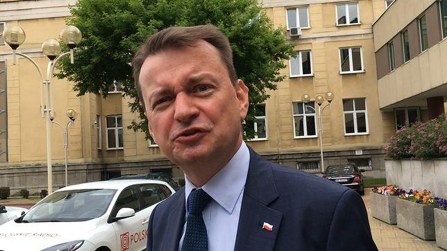 Mariusz Błaszczak pod Polskim Radiem