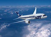 Dreamliner w barwach PLL LOT