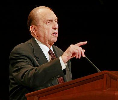 Prezes-prorok mormonów Thomas Monson niemal do ostatnich dni życia nauczał wiernych