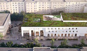 Na dachu teatru pojawi się zielona przestrzeń