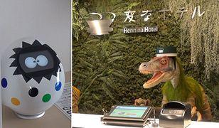 """Roboty w japońskim hotelu """"Henn-na"""""""