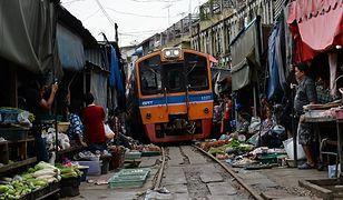 Maeklong - najbardziej niesamowite targowisko na świecie