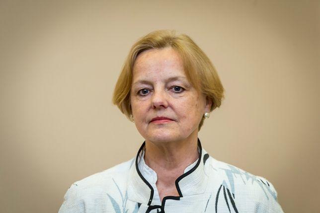 Maria Szonert-Binienda zawieszona w pełnieniu obowiązków konsula