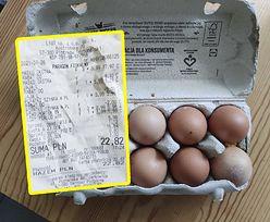 Białe larwy w jajkach ze sklepu. Klient oskarża Lidla