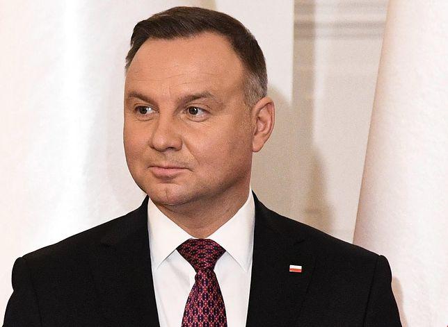 Andrzej Duda zaskoczył ws. związków partnerskich. Jacek Sasin obnażył jego deklarację