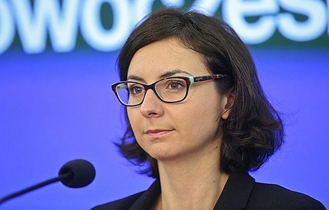 Kamila Gasiuk-Pihowicz podkreśla, że nie da się zastraszyć