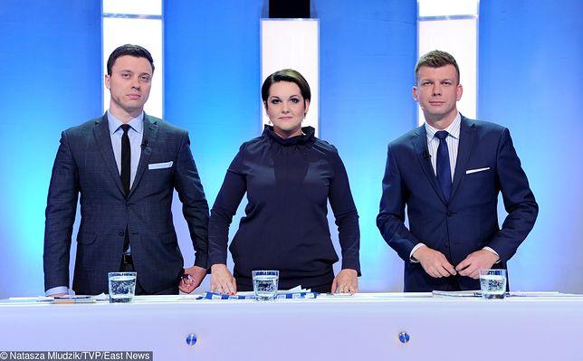Była jedną z prowadzących debatę kandydatów na prezydenta Warszawy