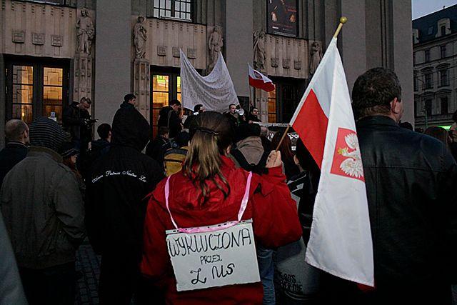Manifestują przeciwko polityce rządu