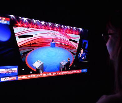 Debata prezydencka w Końskich. TVP odpowiada na zarzuty ws. prompterów (zdjęcie ilustracyjne)