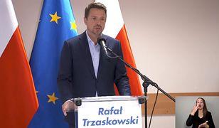 Wybory prezydenckie 2020. Rafał Trzaskowski na wiecu wyborczym
