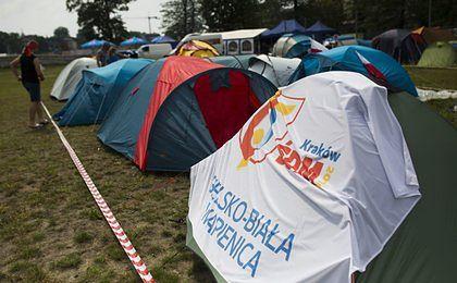 Hotelarze nie obłowili się na ŚDM. Część pielgrzymów wybrała namioty
