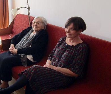 Jolanta Makowska z mamą Anną Lehmann