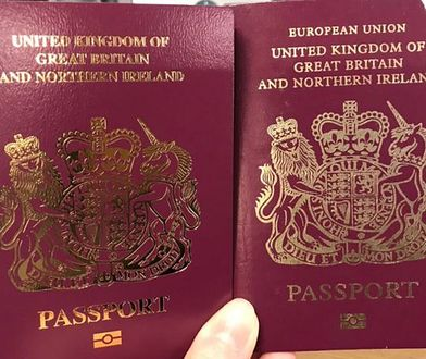 """Nowy brytyjski paszport nie ma na okładce napisu """"Unia Europejska"""""""
