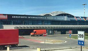 Budynek portu lotniczego Rimini