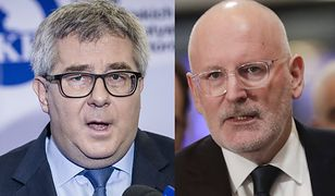 """Ryszard Czarnecki nazwał Fransa Timmermansa """"wrogiem Europy"""""""