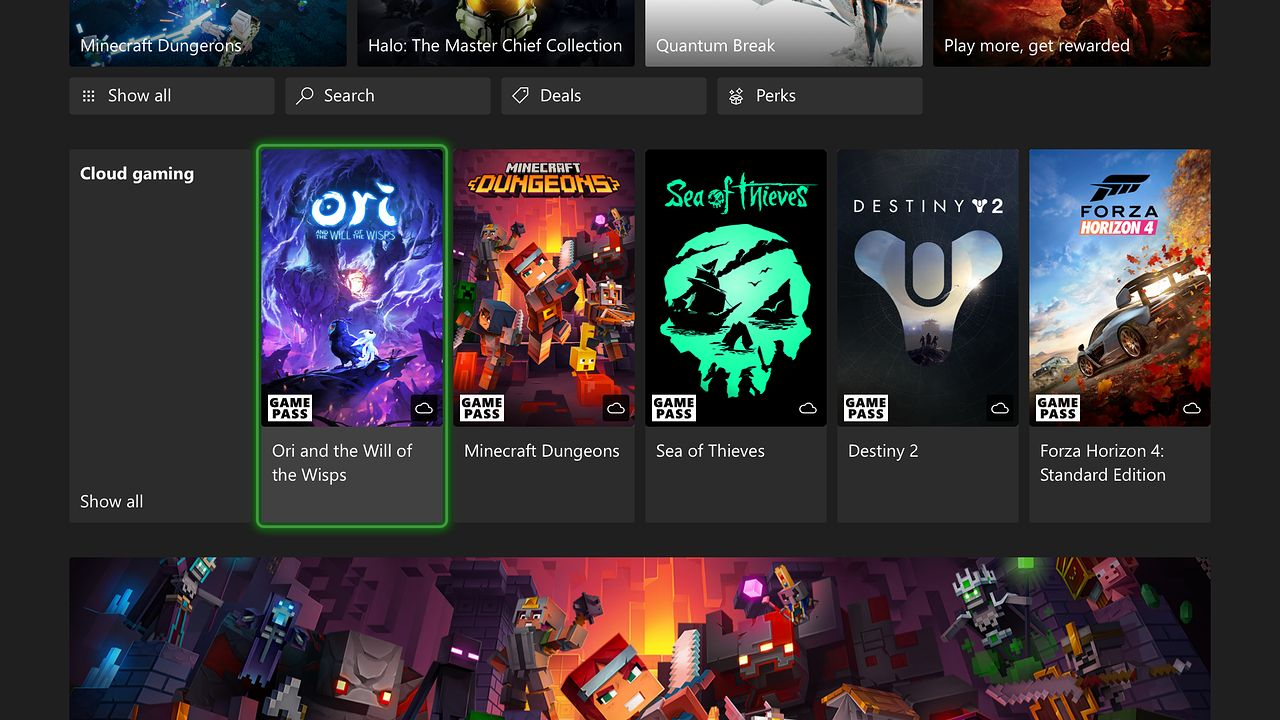 Microsoft szaleje. Cloud gaming na Xbox One i Xbox Series X - Xbox Game Pass