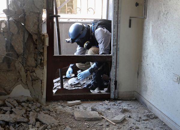 Ekspert ONZ zbiera dowody ws. ataku na przedmieściach Damaszku