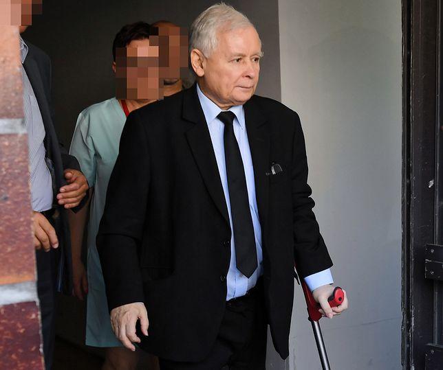 Jarosław Kaczyński w ubiegłym roku  przebywał ok. 40 dni w Szpitalu MON w Warszawie